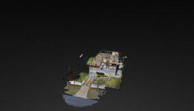 villa garden 3D Model
