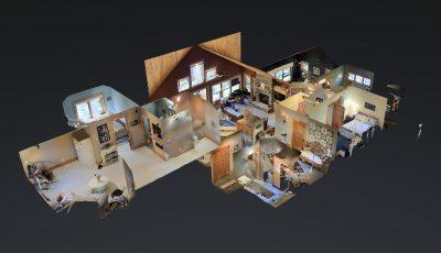 Round lake 3D Model